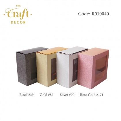 20x10x20cm Glitter Gift Box