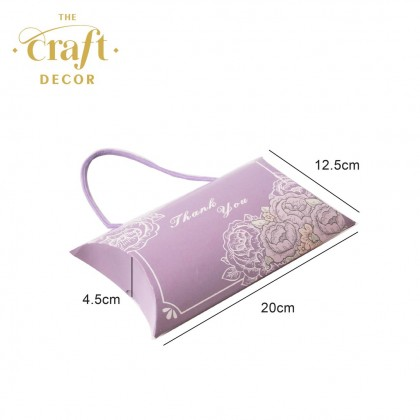 10pcs Hanger Pillow Gift Box