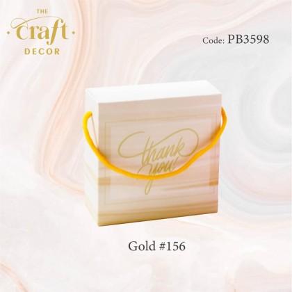 10pcs Gradient Paper Gift Box