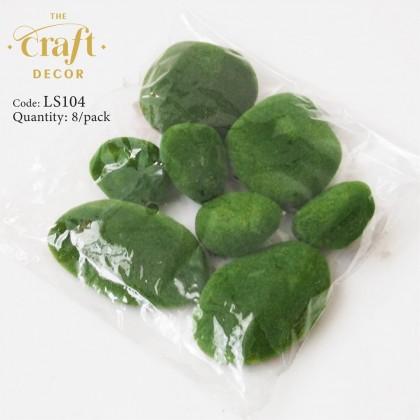 Green Floked Stone