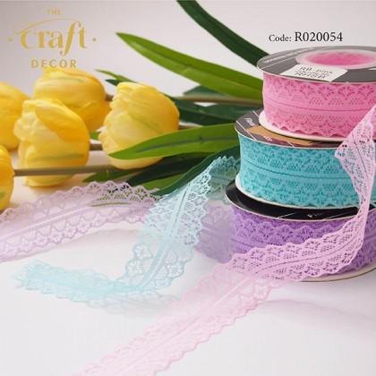 3cmx20Yards Lace Ribbon