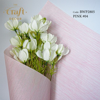 20Sheets Vein Texture Flower Wrapping Paper