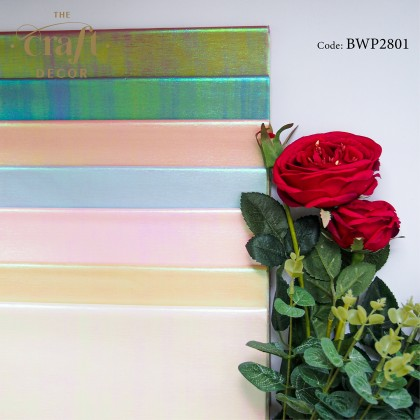 20Sheets Shining Flower Wrapping Paper