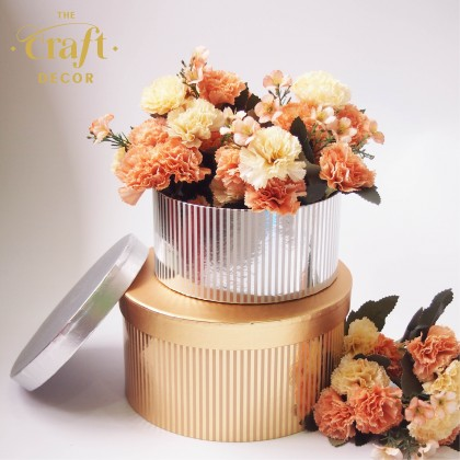 Shiny Round Flower Box