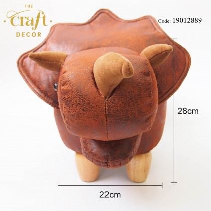 Triceratops Animal-shaped Stool