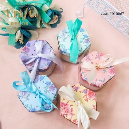 Ribbon Paper Box Door Gift 10pcs/pack