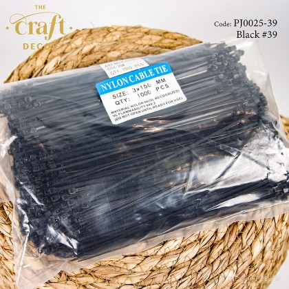 Black & White Nylon Cable Tie