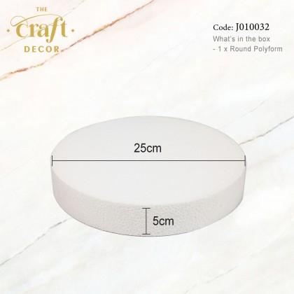 White Round Polyform
