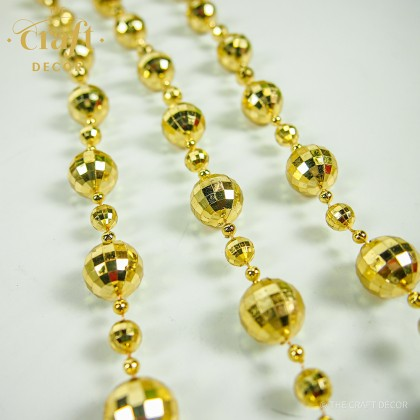 10Yards Silver Gold Bead Chain Roll